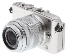 NEW BOXED OLYMPUS PEN Lite E-PL3 EPL3 Camera White + M.ZUIKO 14-42mm II R Lens