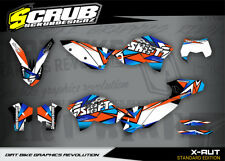 KTM EXC Grafik 125 200 250 300 450 530 2008-2011 '08-'11 Dekor-Set SCRUB