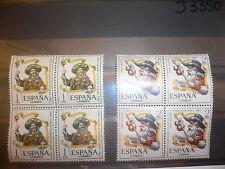 SPAIN ESPAÑA EDIFIL Nº 1672/73 ** MNH AÑO SANTO COMPOSTELANO 1965 BLOQUE 4