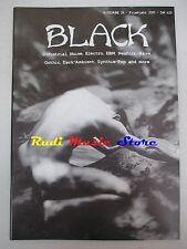 BLACK MAGAZINE 19/2000 Smiths Covenant Decadence Aimless Backworld Recoil *No cd