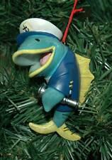 Fish Captain, Nautical Christmas Ornament