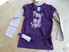 Pampolina VIOLA camicia tunica M.CAMICIA 128 gr. + 140