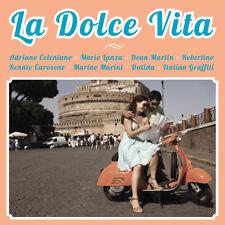 CD La Dolce Vita : Adriano Celentano, Dean Martin, Renato Carosone, Robertino