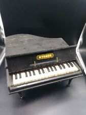 Vintage 1930s Wood TOMBO TOY BABY GRAND PIANO 34 Keys Made in Japan