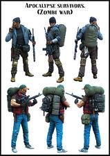 1:35 35547 Zombi War High Quality Resin Kit (2 Figures )