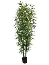 Artificial Potted Bamboo Tree 210cm Imitation Bush Plant Indoor or Outdoor Use
