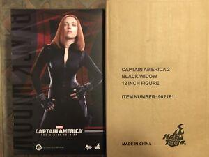 Hot Toys Marvel Black Widow Mms 239 Capitán América 2 Soldado de Invierno 1/6