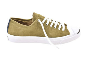 Converse Unisex Jack Purcell Signature Shoes Suede Green
