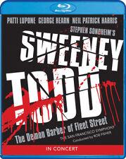 Sweeney Todd: The Demon Barber Of Fleet Street In Concert [New Blu-ray] Widesc