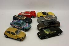 Burago 1/43 - Lot de 8 Ferrari Viper BMW Fiat Renault