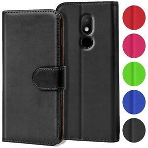 Handy Hülle für Wiko Modelle Case Schutz Tasche Cover Basic Wallet Flip Etui