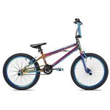 "Kids Fantasy BMX Bike Bicycles 20"" Wheel Multi-Color Iridescent Steel Frame NEW"