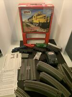 ATLAS HO TRAINMAN BNSF N&W With RS  LOCOMOTIVE TRAIN SET w/Box  + Cars & Tracks