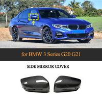 Carbon Spiegelkappen Hülle Cover Gehäuse Außenspiegel Für BMW G20 G21 2019-2020