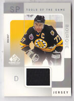 2000-01 SP Game Used Tools of the Game #RB Ray Bourque Jersey