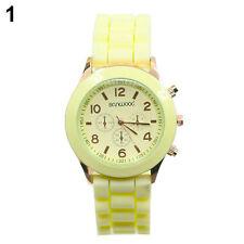 Women Men Couple Casual Quartz Wrist Watch Geneva WristWatch Watches BD1U