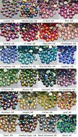 1440~2000pcs Good High Quality Flatback Rhinestones Multiple Color AB Crystal