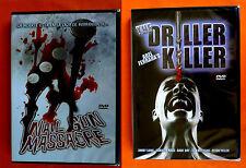 NAIL GUN MASSACRE / THE DRILLER KILLER - 2 dvd Terror Slasher - Precintada