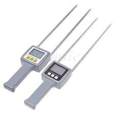 2 Pcs Digital Grain Moisture Meter Tester Tk25g Multifunction Moisture Tk100