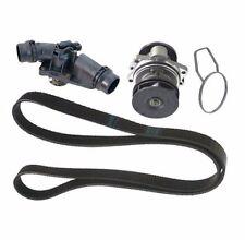 BMW 6cyl (99-06) GENUINE Water Pump COMP +Belt +97c Thermostat E39 E46 E53 E60