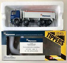 DAF 85 DUMP TRUCK HANSON -AGGREGATE TIPPER 1:50 SC CORGI CC11804 LE CERTIFICATE