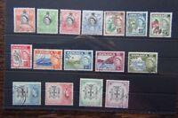 Jamaica 1956 - 1958 set to £1 Fine Used