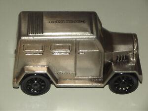 Vintage Die Cast Armored Car Bank Northwest Savings Advertising Promo Coin Bank