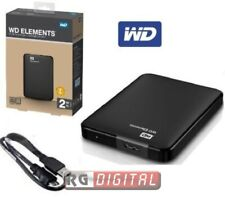 Western Digital Elements WDBUZG0020BBK-WESN 2TB, Esterno, 5400RPM, 2,5'' Disco Rigido