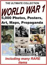 5000 + Rare Images World War 1 Print & Sell Business Unique Collection Photo's +