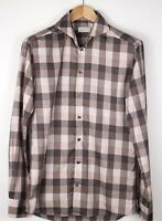 ETON Men Slim Check Casual Formal Shirt Size 39 - 15 1/2 ALZ469