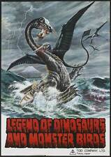 LEGEND OF DINOSAURS AND MONSTER BIRDS Movie POSTER 27x40