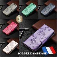 Etui Coque Housse BUTTERFLY Case Huawei P30, P30 Lite, Pro, Y6, Y7, P Smart 2019