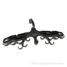 Diving Hanger Dive High Quality Deluxe Scuba BCD Wetsuit Black w/ Din Thread