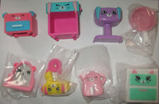 MCDONALDS  SHOPKINS HAPPY PLACES SET OF 8 NON PLAYED WITH SET 3