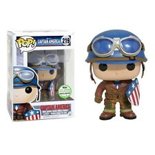 FUNKO POP Marvel Captain America ECCC Spring Limited Version Collection Kids Toy