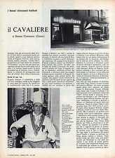 R6 Clipping-Ritaglio del 1979 Ristorante Il Cavaliere di Senna Comasco - Como