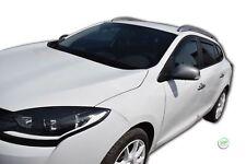 DRE27178 Renault Megane III Grandtour 09-16 HEKO Derivabrisas Negro 4 Piezas Kit