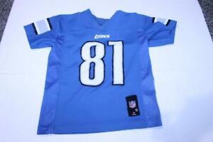 """Youth Detroit Lions Calvin Johnson """"Megatron"""" S (8) Jersey (Blue) NFL Team Appar"""