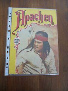 """Progress Filmprogramm 21/73 """"Apachen"""" mit Gojko Mitic"""