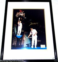 Muhammad Ali signed autographed 1996 Olympic Torch 16x20 photo poster framed COA