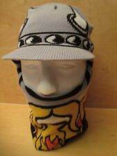 RARE TOBY VIKING PRINT BEANIE HAT SIZE 8-20 VERY FREAKING WARM!