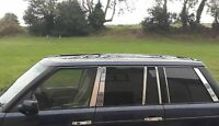 2002-2013 Range Rover L322 VOGUE Chrome Door Post Pillar 4 Doors 12pcs S.STEEL
