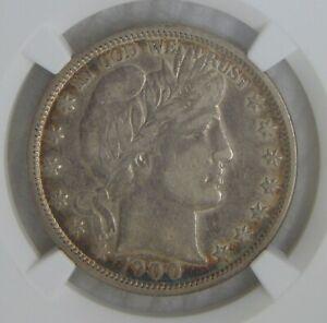 1900 O Barber Silver Half Dollar 50C ~ NGC VF30, KEY DATE!