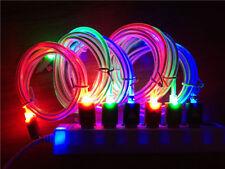 LED LUMINOSA Caricabatterie USB Cavo Di Sincronizzazione Dati Cavo Per iPhone 5,5, 5, S 6 Plus