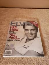 ELVIS PRESLEY ~ THEN & NOW OFFICIAL GRACELAND 25th ANNIVERSARY & CD ~ SEALED