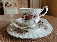 "Royal Albert "" Lavender Rose"" Kaffeegedeck - 3 teilig - Bone China - England"