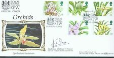 Great Britain 1993 Orchids FDC signed by Prof. G.T.Prance