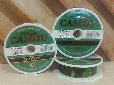 LENZA DA PESCA SUPER Camou SPINN 150M, 0,18 mm, 3,90 kg, luccio, pesce persico, Zender