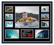 MICK FANNING FAREWELL SIGNED PHOTO LIMITED EDITION FRAMED MEMORABILIA