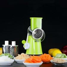 Stainless Steel Fruit Vegetable Cutter Round Mandoline Slicer Grater